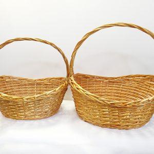 14222 14223 Корзина плетеная ива