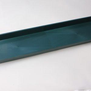 Поддон для кирпича двойной, 49х12х3см, зеленый