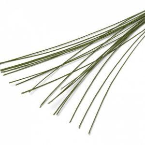 Проволока лакир. герберная, 2 стор. затупл. 0,9 х 400 мм