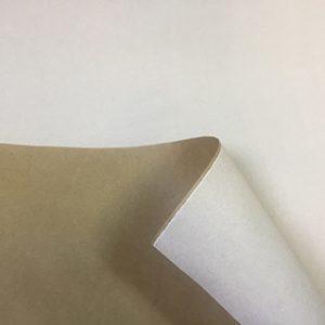 Бумага крафт цветной белый 70см, 1м