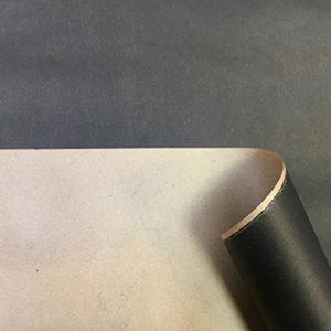Бумага крафт цветной черный 70см, 1м