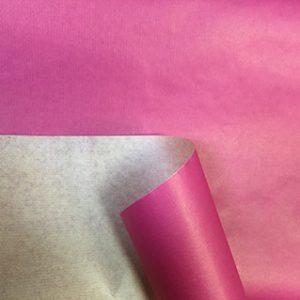 Бумага крафт цветной фуксия 70см, 1м