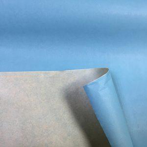 Бумага крафт цветной голубой 70см, 1м