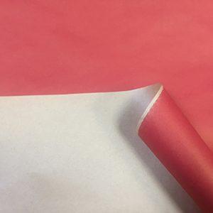 Бумага крафт цветной красный 70см, 1м