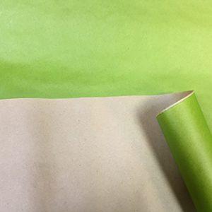 Бумага крафт цветной салатовый 70см, 1м