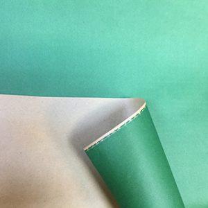 Бумага крафт цветной зеленый 70см, 1м