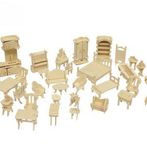 Миниатюрные предметы и кукольная мебель